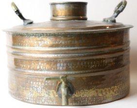 Antique Copper Large Kettle