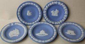 Wedgwood Jasperware Service Plate Grouping