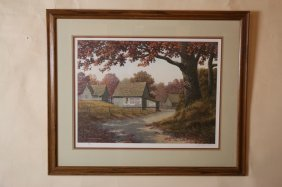 Jim Harrison Signed And Numbered Print