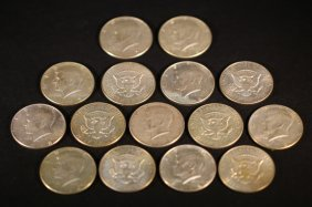 1960's Silver Half Dollar Grouping