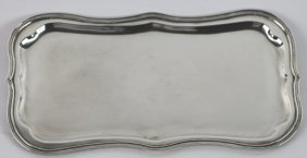 J.r. Arminger Baltimore Sterling Silver Large Tray