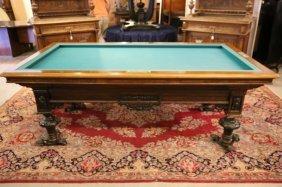 Thissen & Slegers Belgium Antique Billiards Table