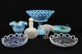 Antique Depression Glass Grouping