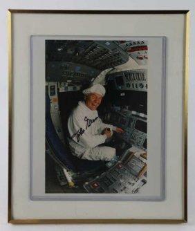 "Nasa ""john Glenn"" Signed Portrait"
