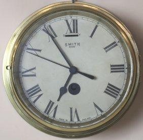 Smith Antique Ships Clock
