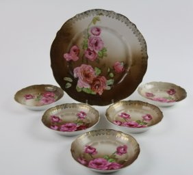 German Antique Porcelain Grouping