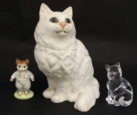 A Beswick Model Of A White Persian Cat, Number 1867,