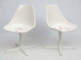 Vintage Retro :a Pair Of Original Eero Saarinen (