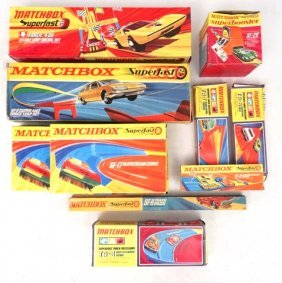A Collection Of 1970s Matchbox Sets In Original Boxes