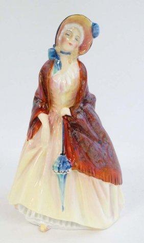 A Royal Doulton Figurine '' Paisley Shawl '' Hn1988,