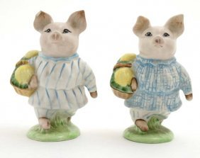 Two Beswick '' Beatrix Potter '' Models Formed As ''