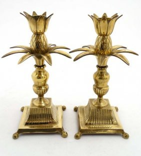 A Pair Of Mid Century / Hollywood Regency : A Pair Of