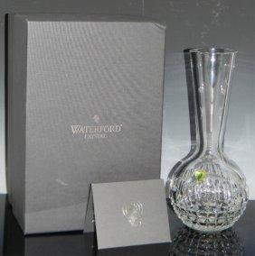 Waterford Crystal Fleurology Caroline Bubble Vase