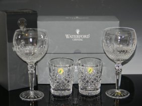 Waterford Crystal Lismore & Colleen Glasses