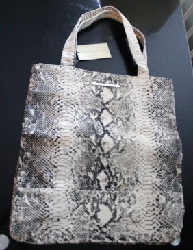STELLA MCCARTNEY BRAND NEW ECO ZEBRA PRINT HANDBAG/TOTE