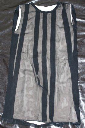 3.1 PHILLIP LIM BLACK SHEATH DRESS...SIZE 6