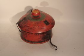 Rajasthan Pot With Lid