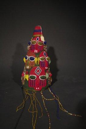 Yoruba Royal Beaded Crown