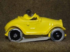 Dent Yellow Racer