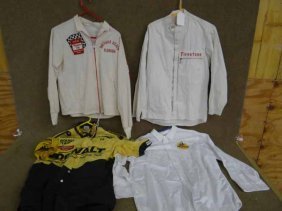 Grping Of Automobilia Shirts, Coats