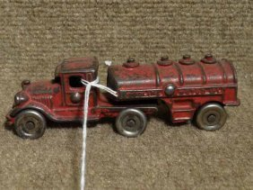 A.c. Williams Gasoline Tank Truck