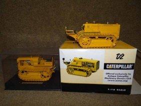 (2) Caterpillar Toys