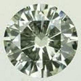 0.49 Ct Green Diamond -SI - No Treatment