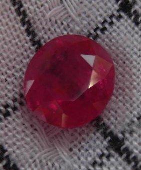 Natural Ruby 3.70 Carats - No Treatment