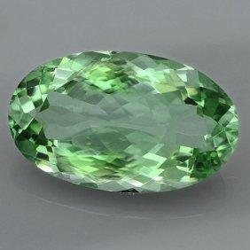 Natural Healing Green Color Amethyst 24.20 Cts - Vvs