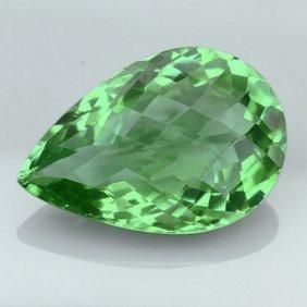 Natural Healing Green Color Amethyst 20.90 Cts - Vvs