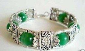 Tibet Buddha Green Bracelet