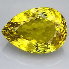 Natural Lemon Citrine Gemstone 69.10 Carats - Vvs