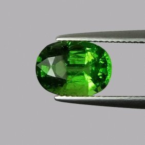 Natural Green Chrome Tourmaline 3.95 Cts