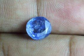 Natural Blue Sapphire 3.43 Cts - No Treatment