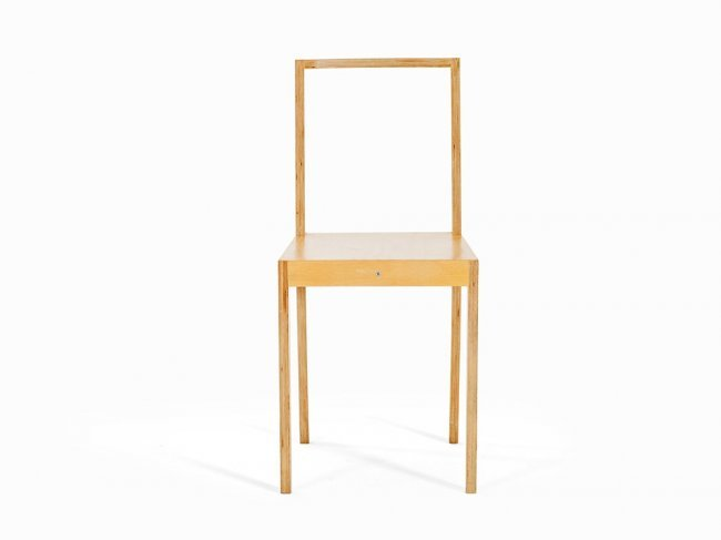 Jasper morrison ply chair england 1988 lot 91 for Plywood chair morrison