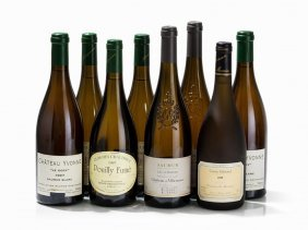 8 Bottles Loire Wine From 1995 To 1997