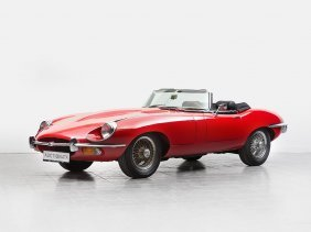 Jaguar E-type 4.2 Series 2, Cabriolet, Model 1969