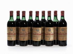 9 Bottles 1961 Señorío De Sarría Reserva, Navarra
