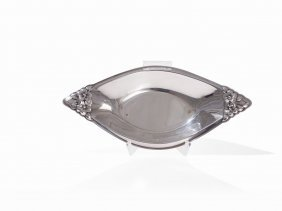 Rogers & Bros., Silver Plated 'garland' Bowl, Usa,