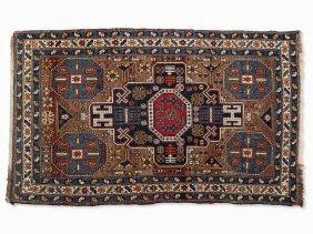 Carpet With Gul Motif, Caucasus/asia, Mid-20th C.