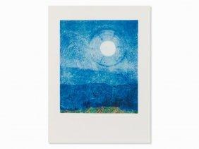 Max Ernst, After: Ein Mond Ist Guter Dinge, Serigraph,