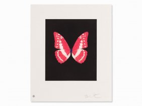 Damien Hirst, Eternal Rest, Etching In Colors, 2009