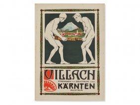 P. Sencig, Poster 'villach Tourist Centre', Carinthia,