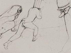 "Etching ""children's Carnival Folio One"" Hans T."