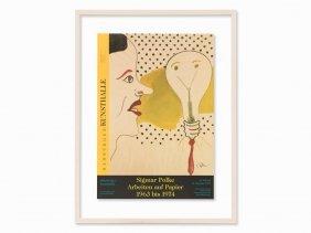 Sigmar Polke, Poster: Arbeiten Auf Papier, Offset, 1999