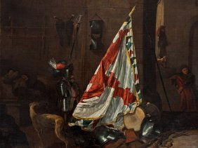 Johan Le Ducq (1629-1676/77), The Guardroom, 17th C.