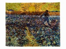 After Vincent Van Gogh, Le Semeur Au Soleil Couchant,