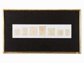 Victor Vasarely (1906-1997), Fille Fleur Frise, Pencil,