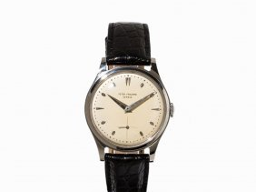Patek Philippe Steel-wristwatch, Ref. 2509, C. 1950
