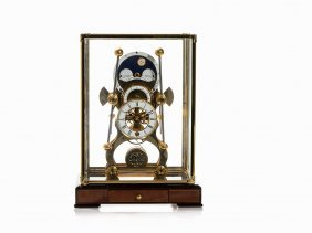 A Moonphase Sea Clock After John Harrison, England,